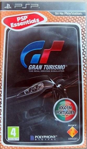 Jogo Gran Turismo Playstation Portable Psp Mídia Física Game
