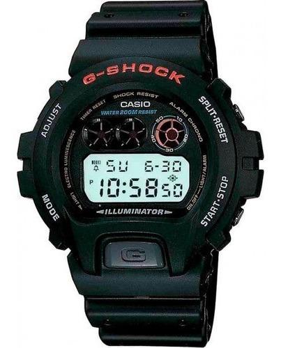 Relógio Casio G-shock Dw-6900-1vdr Resistente A Choques Nf