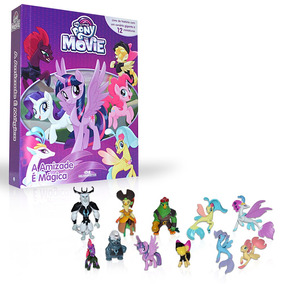 Livro Infantil - My Little Pony Movie - A Amizade É Magica -