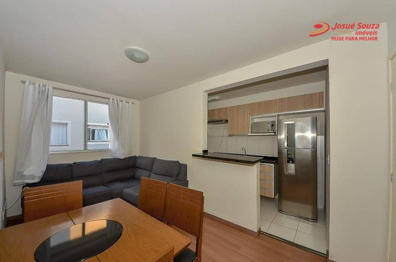 Apartamento Com 2 Dormitórios Para Alugar Por R$ 850,00/mês - Afonso Pena - São José Dos Pinhais/pr - Ap0818