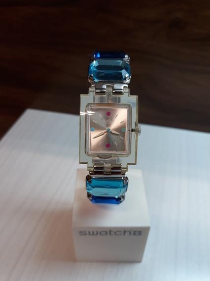 Relógio Swatch Subk142g + Garantia De 1 Ano + Nf