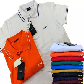347b2a06a4 Camisa Polo Diversa Marca Famosa - Camisas no Mercado Livre Brasil