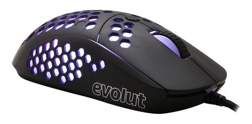 Mouse Gamer Keppni Pro Usb Rgb Ultra Leve Evolut 10000dpi