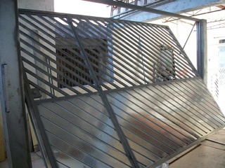 Projeto Portao Basculante De Ferro, Madeira, Aluminio. Aço.