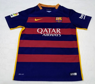 Camisa Do Barcelona 2015 Feminina Primeiro Uniforme