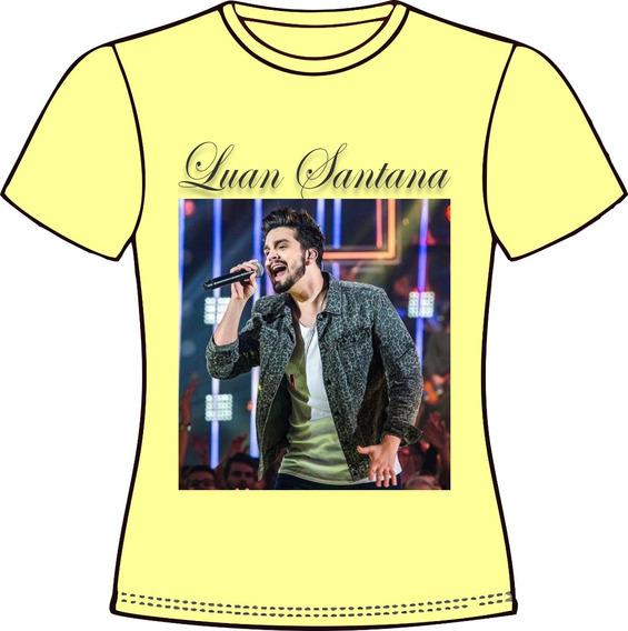 Camiseta, Baby Look, Regata, Almofada... Luan Santana 02