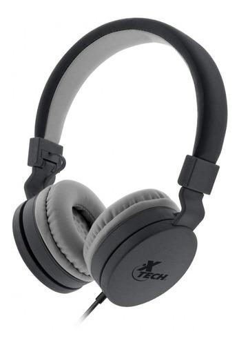 Audífonos Estéreo Con Cable 3.5mm Manos Libres Xtech Alloy