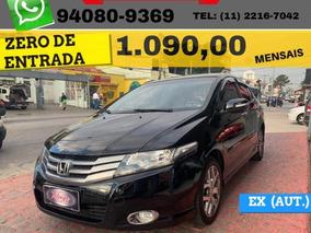 Honda City Ex 1.5 16v (flex) (aut.) 2011 Zero De Entrada