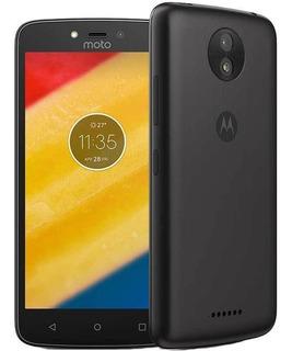 Celular Moto C Plus Negro 16 Gb 8 Mp Quad Core 5 Pulgadas