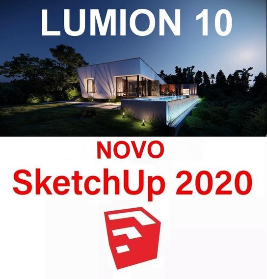 Super Combo: Lumion 10 - Sketchup 2020 - Vray Next + Brinde