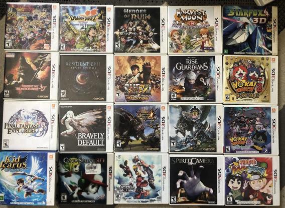 Resident - Dragon Quest - Star Fox Nintendo 3ds/ds