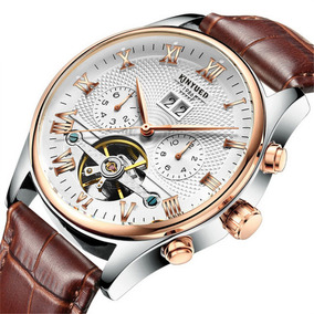 Reloj Mecánico Impermeable Hombres Kinyued J012