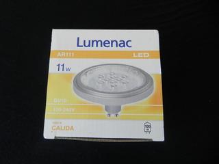 Lampara Led Ar111 11w Luz Cálida Gu10 Lumenac
