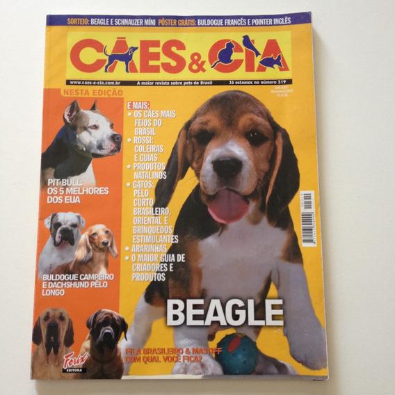 Revista Cães E Cia Beagle Pit Bull N°319 D551