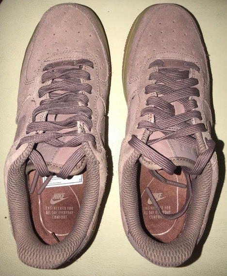Nike Air Force 1 Smokey Mauve Gum
