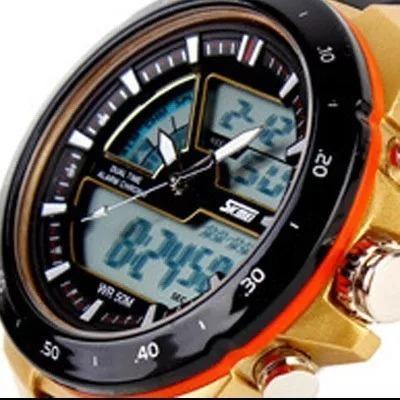 Kit Com 2 Relógio 50 M À Prova D
