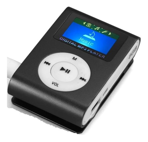 Mp3 Digital Con Pantalla Lcd De Micro Sd Y Mini Usb Audifono