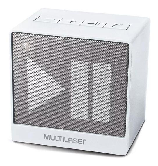 Caixinha De Som Bluetooth Portátil Multilaser Recarregável