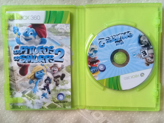 Os Smurfs 2 Los Pitufos 2 Original Xbox 360. Usado.