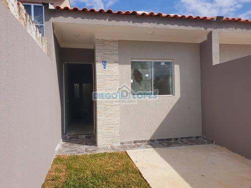 Casa Nova Em Campo De Santana - Curitiba, Pr - 1025