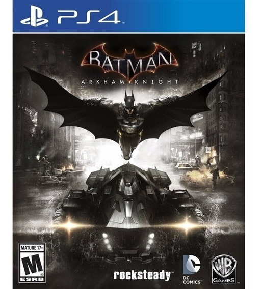 Batman Arkham Knight Ps4 Midia Fisica