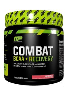 Combat Bcaa + Recovery Muscle Pharm Mp 400g Aminoácidos