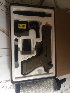Pistola Airsoft Elétrica Seminova