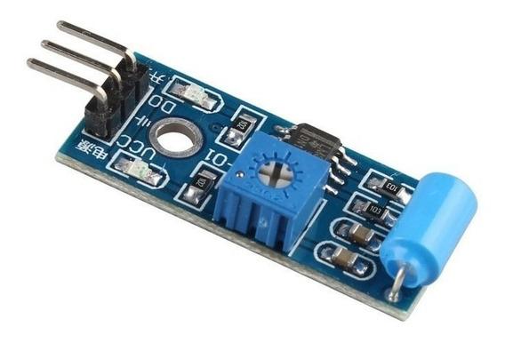 10x Módulo Sensor De Vibração Digital Sw420 Arduíno C/ Nota
