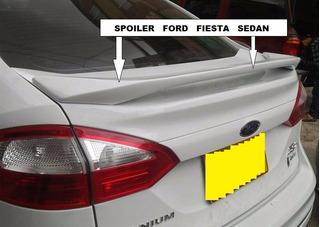 Spoiler Ford Fiesta Sedan