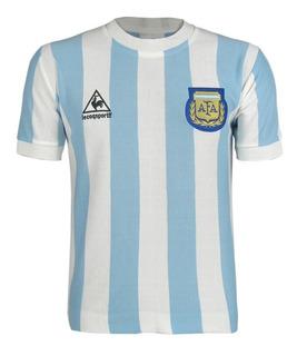Camisa Retrô Argentina Maradona 1986 Home