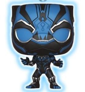 Funko Pop Keychain Black Panther - Black Panther Glow