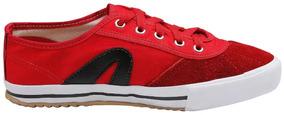 Tenis Rainha Voley Vermelho/preto