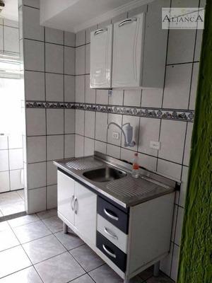 Kitnet Residencial Para Locação, Assunção, São Bernardo Do Campo - Kn0044. - Kn0044