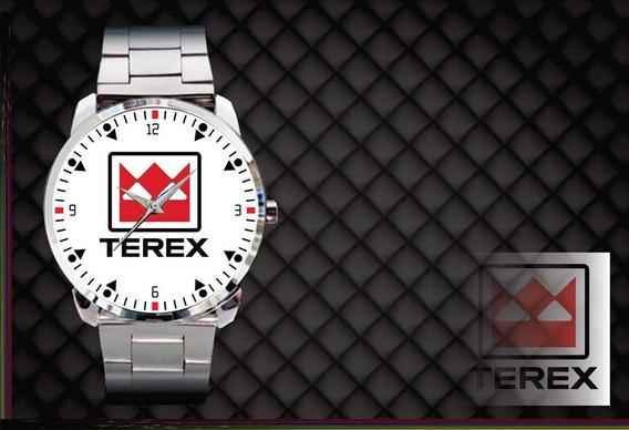Relógio De Pulso Personalizado Logo Terex Maquinas Agricolas