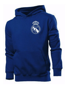 Moletom Real Madrid Futebol Blusa Moleton Canguru Jaqueta