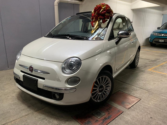 Fiat 500 1.4 Lounge Convertible Mt 2015
