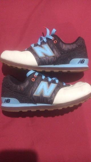 Zapatos New Balance Originales Niño Talla Us 2.5 Poco Uso