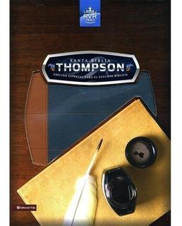 Biblia Thompson Edicion Especial Para Estudio Biblico Azul