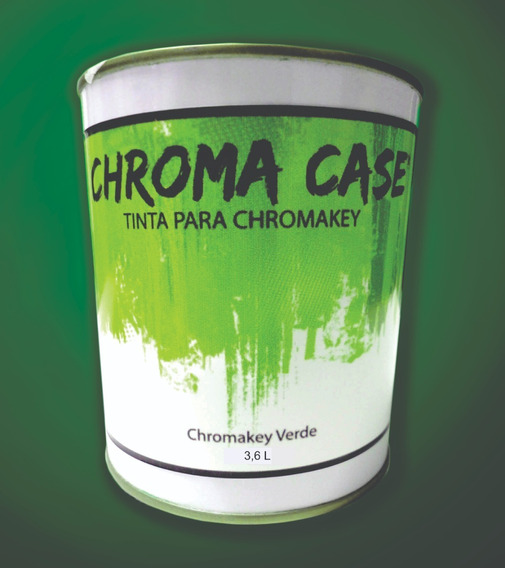 Galão Tinta Verde Background Virtual 3,6l Chroma Key Paint