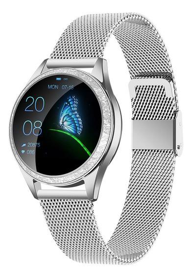 Reloj Inteligente Kingwear Kw20 Ip68 Deportivo Para Mujer