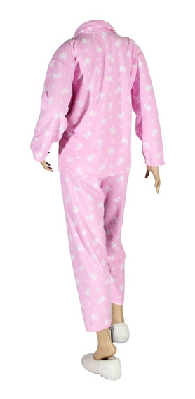 Pijama Mujer Manga Larga