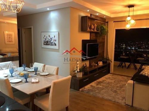 Lindíssimo Apartamento A Venda No Condomínio Abitare Eco Club Jundiaí Sp. - Ap00243 - 69481530