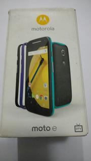 Smartphone Moto E2 16gb Tv Xt1523 Somente Caixa Do Aparelho