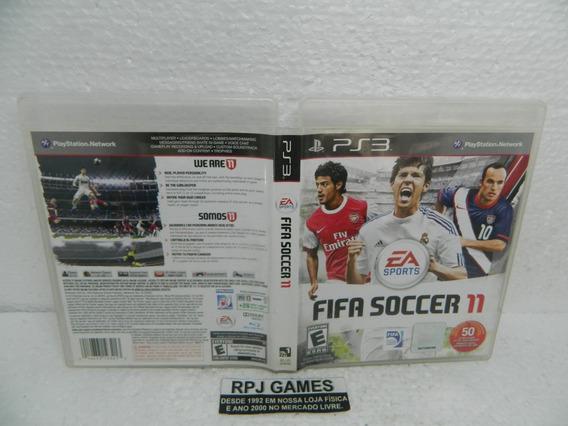 Fifa Soccer 11 Original Completa Midia Fisica Ps3 - Loja Rj