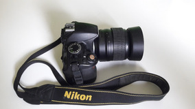 Câmera Dslr Nikon D3100 Semi-nova Com Kit