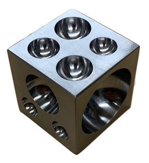 Cubo De Acero Para Joyeria Y Plateria , Dado , Embutidor