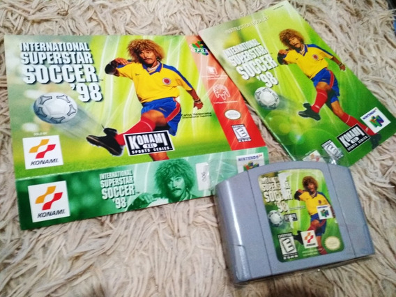 International Superstar Soccer 98 Com Caixa E Manual Origina