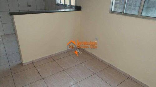 Imagem 1 de 6 de Sobrado Com 6 Casas De Renda À Venda, 125 M² Por R$ 340.000 - Jardim Presidente Dutra - Guarulhos/sp - So0841