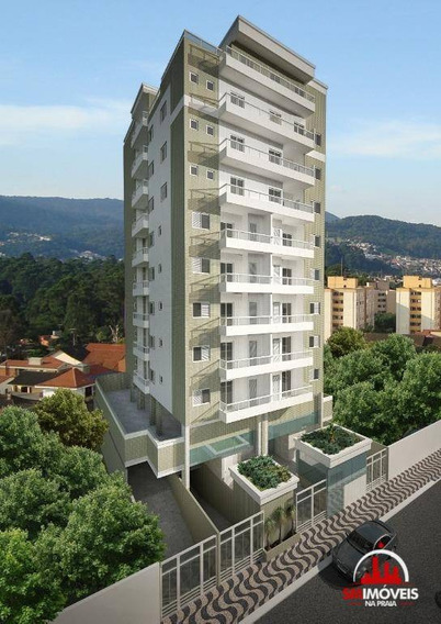 Cobertura Com 3 Dormitórios À Venda, 165 M² Por R$ 500.000 - Vila Mirim - Praia Grande/sp - Co0013