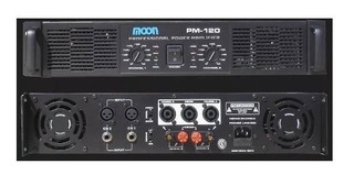 Amplificador De Audio Moon Pm120 480w 2 Canales Stereo.